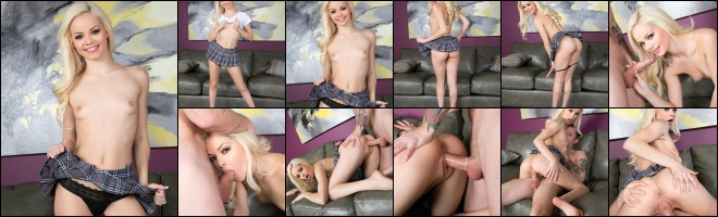 Elsa Jean sucks and fucks