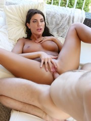 August Ames at PornFidelity